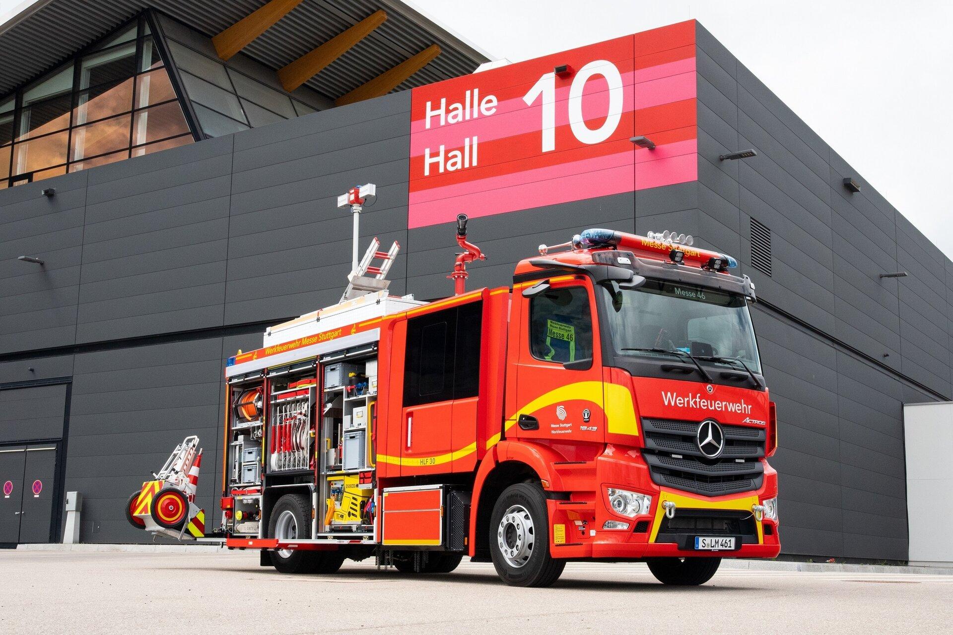 HLF 30 Messe Stuttgart