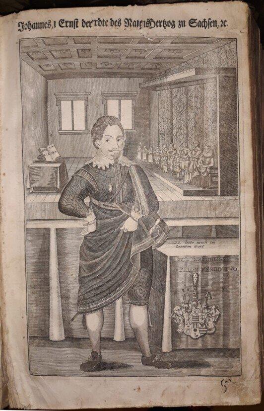 Ernestinische Fürstenbibel, Nürnberg 1747