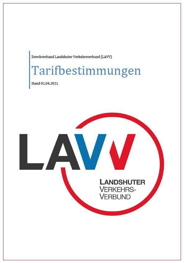 Tarifbestimmungen LAVV 04.2021
