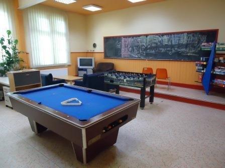 Jugendclub: Innenraum