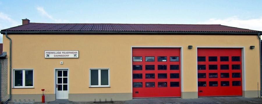 Gerätehaus Ortslage Dahnsdorf