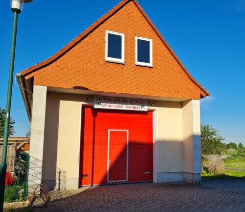 Gerätehaus Ortslage Kranepuhl