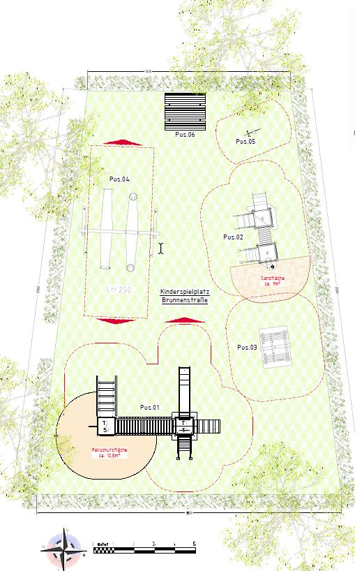 Entwurf Spielplatz