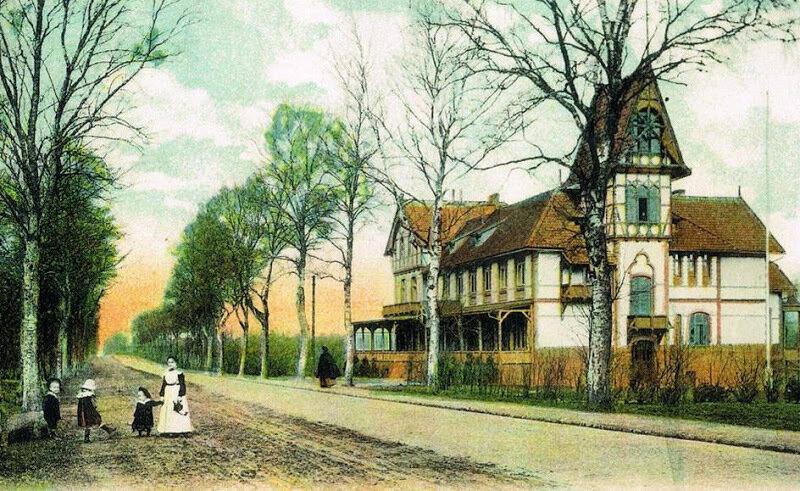 ca. 1920 Kurhotel Waldburg