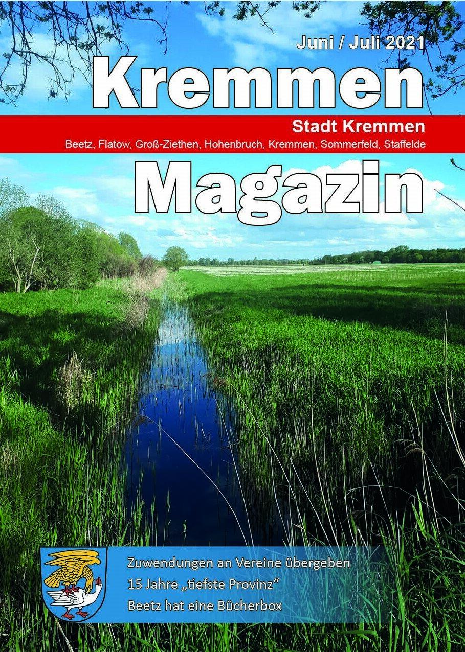 Kremmen Magazin 03/2021