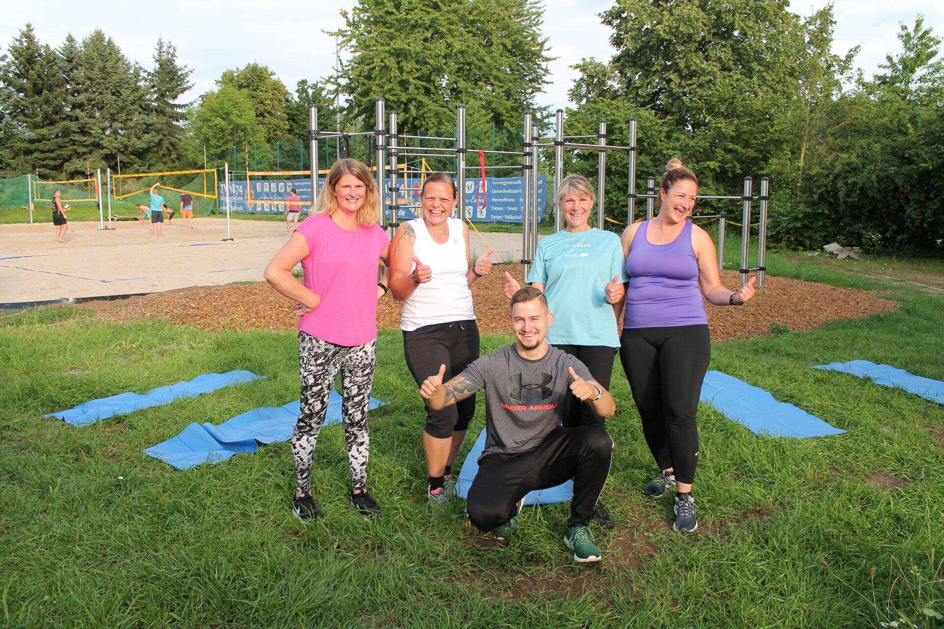 Fitness-Anlage beim TV Bergen-Enkheim