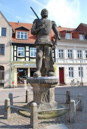 Rolandstatue auf dem Großen Markt
