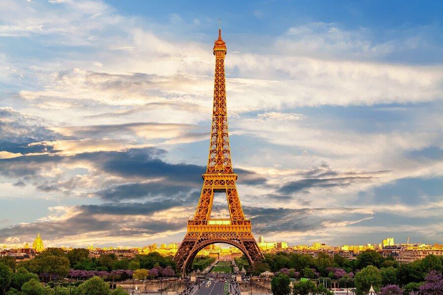 Bild zeigt den Eiffeturm in Paris in Frankreichb; Foto: Pixabay