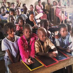 Unterstützung der Grundschule Madina Borboff