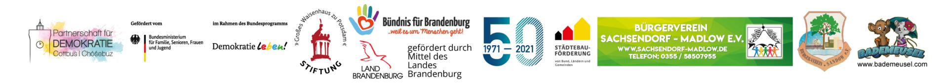 Logoleiste Partner & Förderer