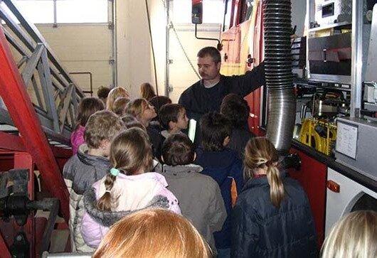 Besuch bei der Geltower Feuerwehr