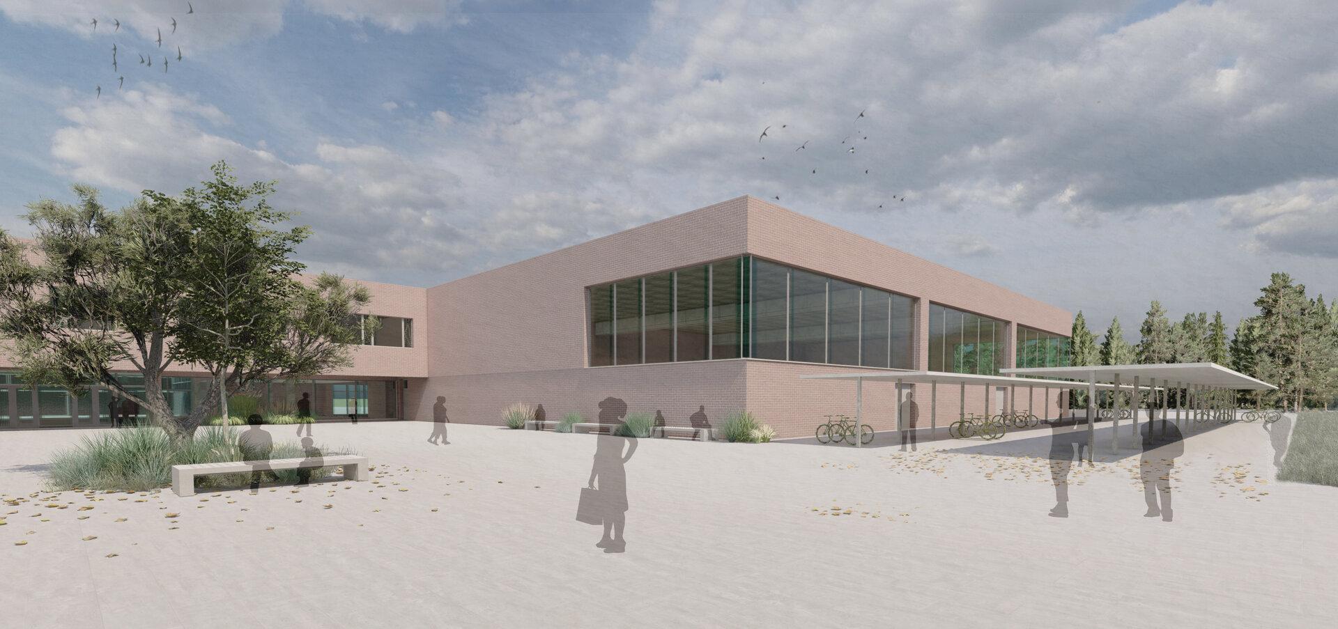 Entwurf Neubau Oberschule