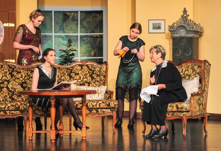 Griet, Anna, Julia und Lilly