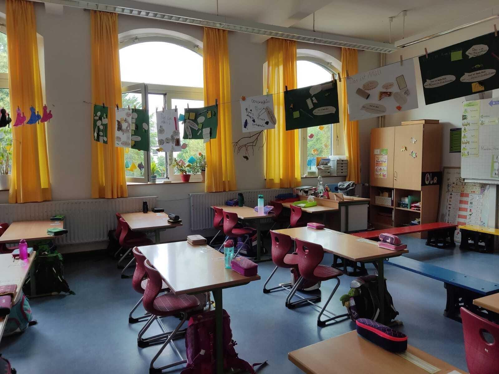 Blick in eine erste Klasse