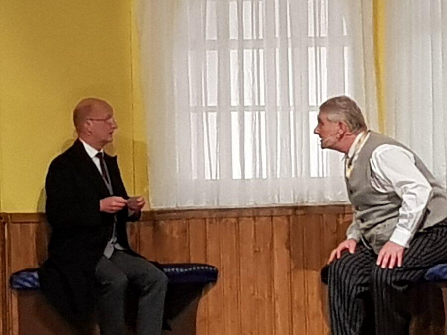 Ein Foto bringt Albert Wimmer und Ludwig Klinke in Bedrängnis