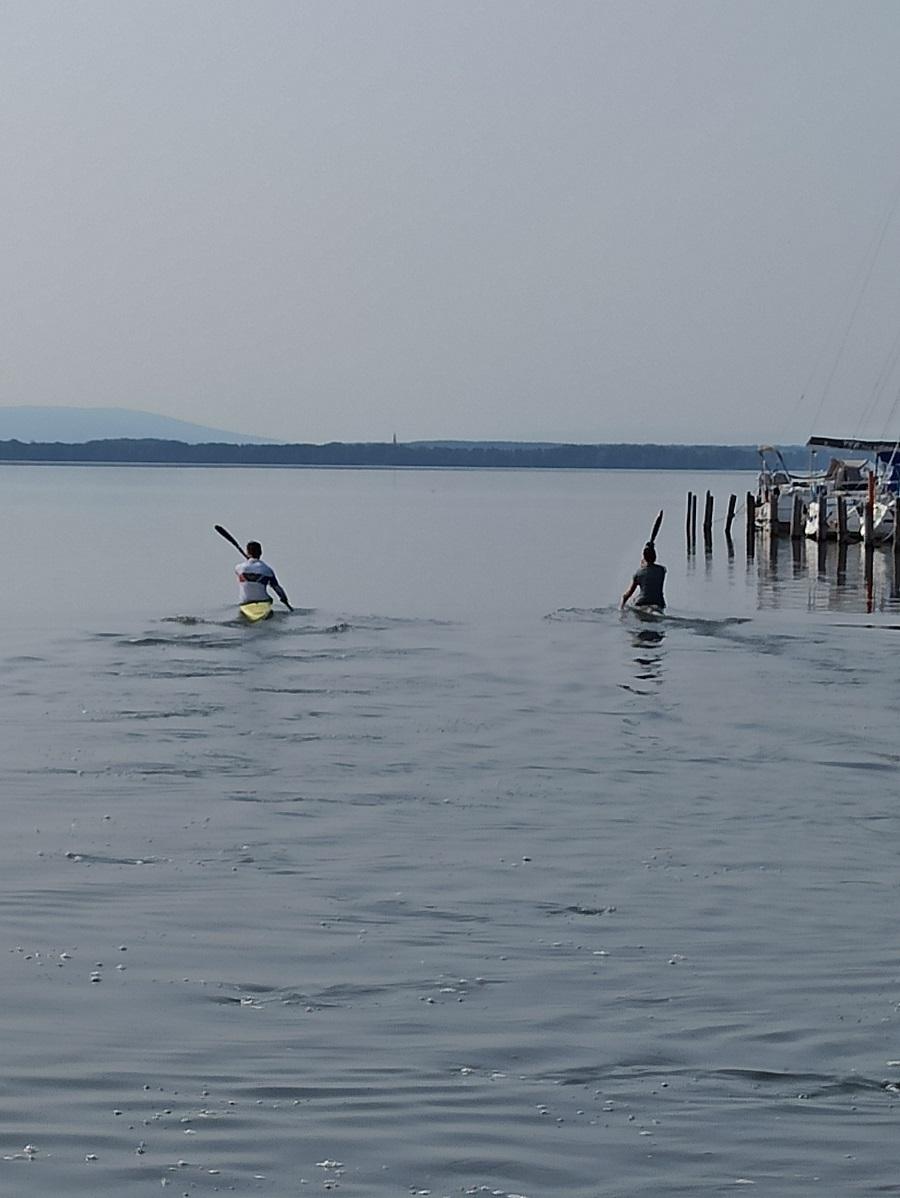 Rennsport-Training auf dem Steinhuder Meer