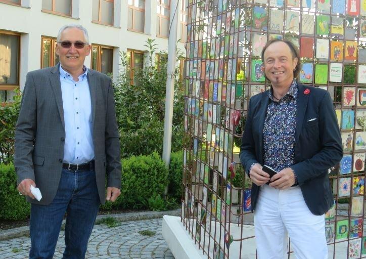 MR Hubert Kraus zusammen mit Hr. Bgm. Uhl