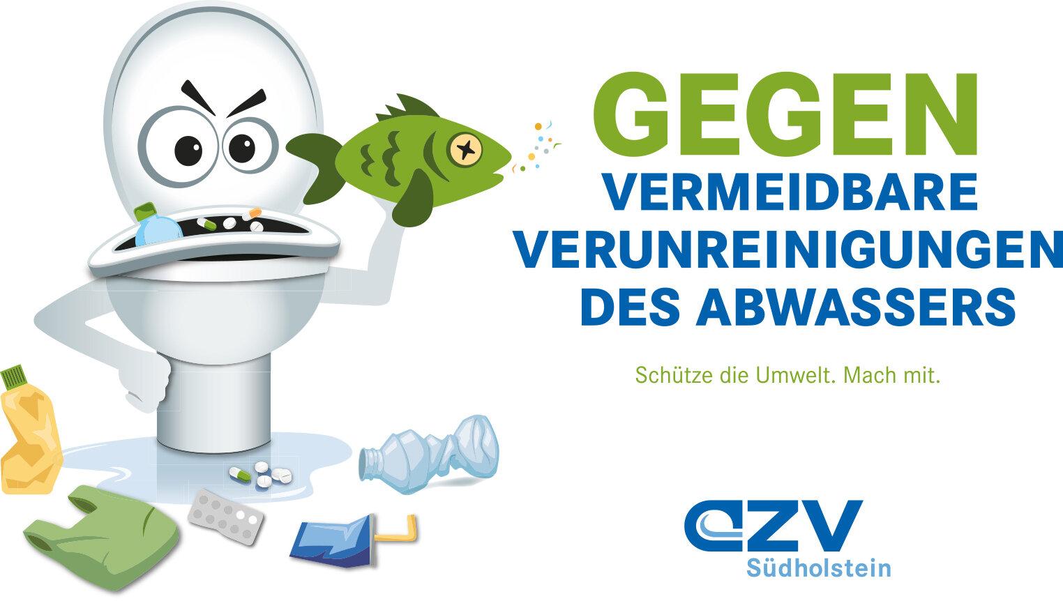 Gegen vermeidbare Verunreinigungen des Abwassers