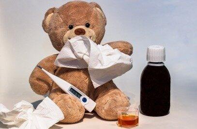Kranker Bär