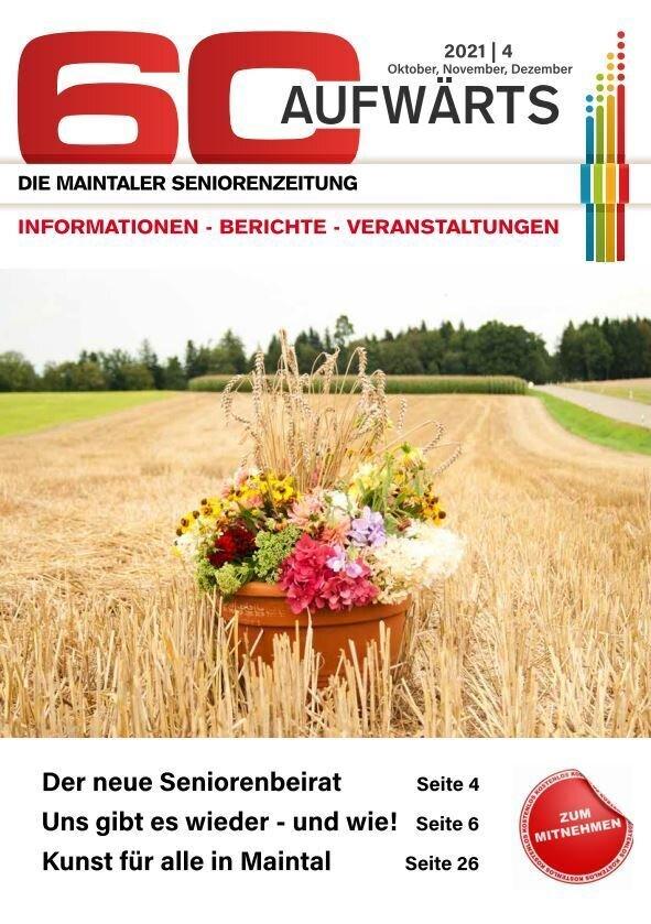 Cover Seniorenzeitung 4/2021