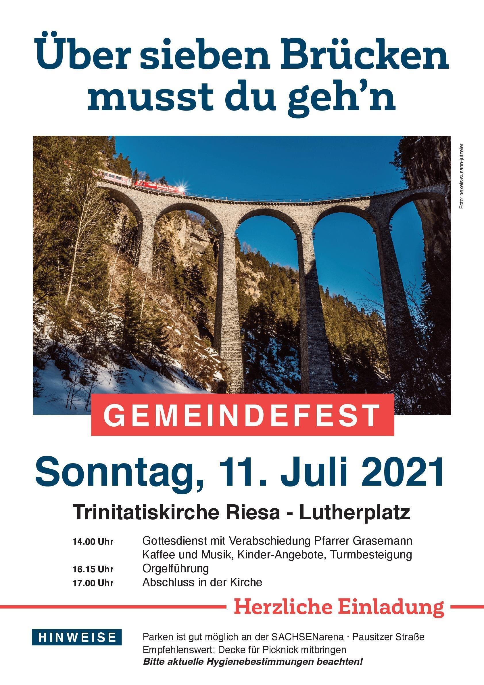 Gemeindefest 2021