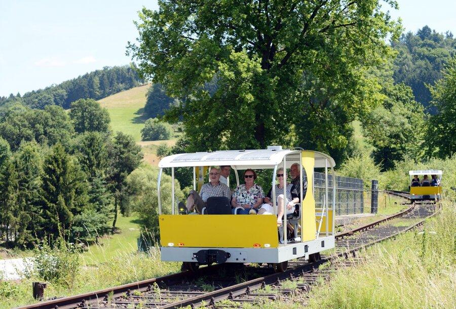 Foto: Solardraisine, Überlandbahn gGmbH