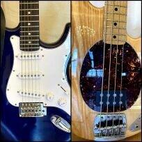 E-Gitarre und E-Bass- bitte klicken!