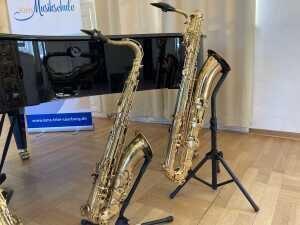 Das Saxophon - bitte klicken!
