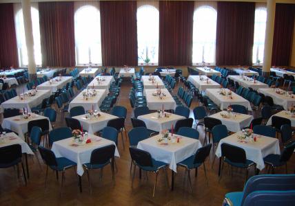 Kultur- und Schützenhaus Saal bestuhlt