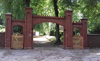 Unter Denkmalschutz Klosterfriedhof Malchow