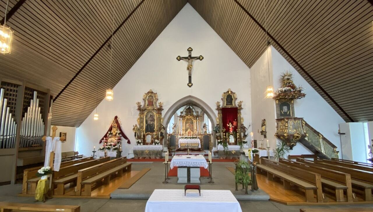 Kirche Miltach Innen