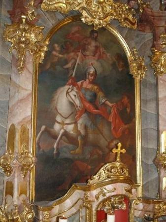 Kirche Altarbild