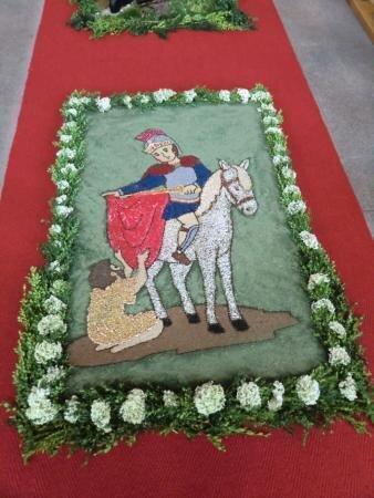 Blumenteppich Miltach