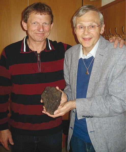 Pavel Sparny und Dieter Heinlein