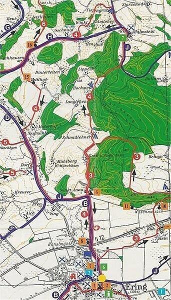 Rundwanderweg 4: St. - Anna - Rundwanderweg, ca. 15 km