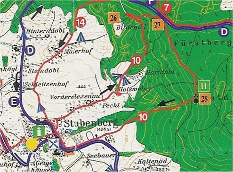 Rundwanderweg 10: Marterlweg, ca. 7 km