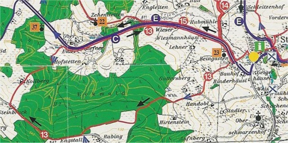 Rundwanderweg 13: Eckwaldweg, ca. 8 km