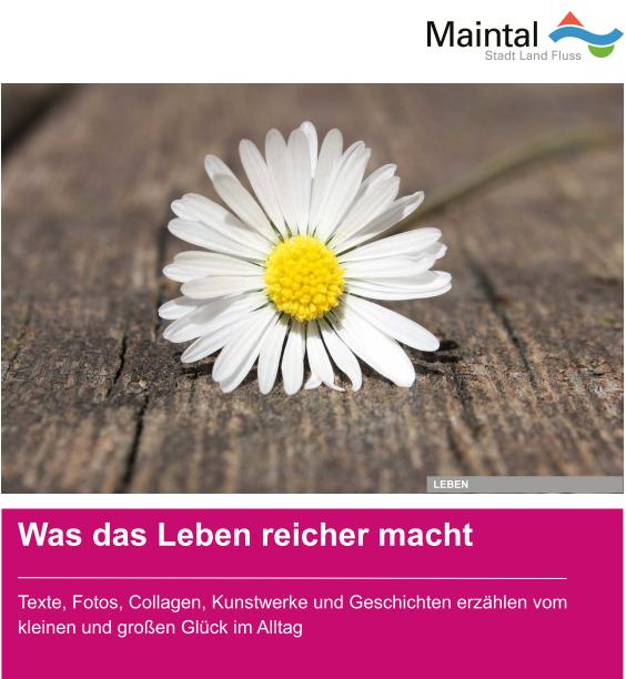 """Bild zeigt Plakat der Aktion """"Lebensfreude"""""""