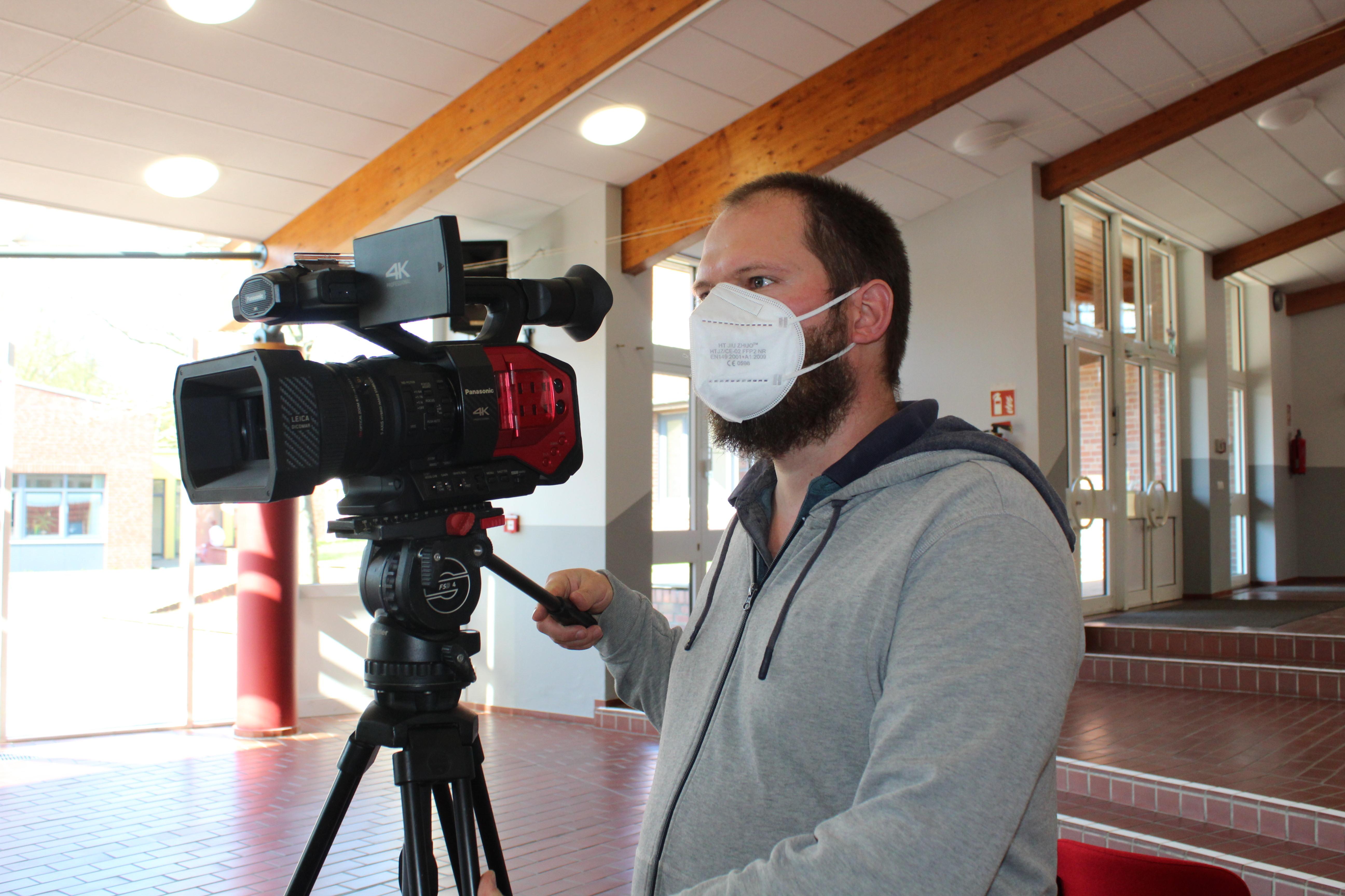 Filmemacher und Kultervermittler Moses Merkle