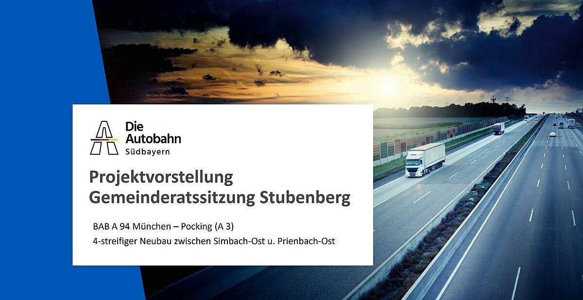 Projektvorstellung Gemeinderatssitzung Stubenberg