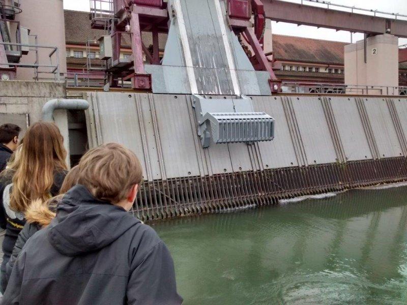Modul Regenerative Energie- Wasserkraft Kraftwerk Laufenburg3