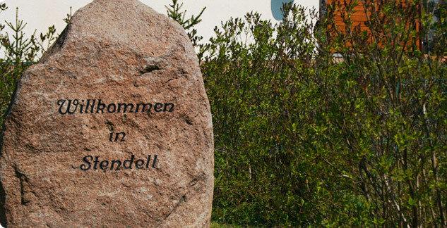 Ortssteine des Ortsteils Stendell