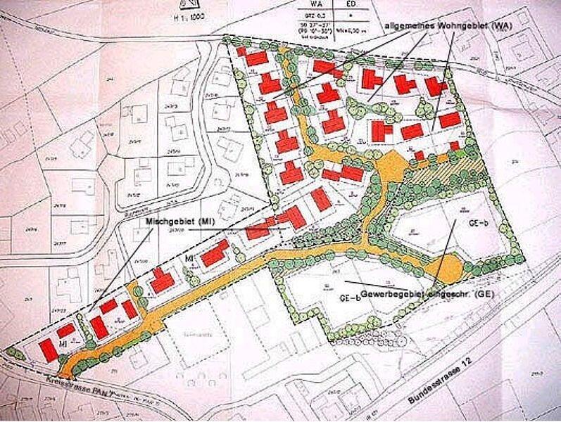 Baugebiet Prienbach Süd II