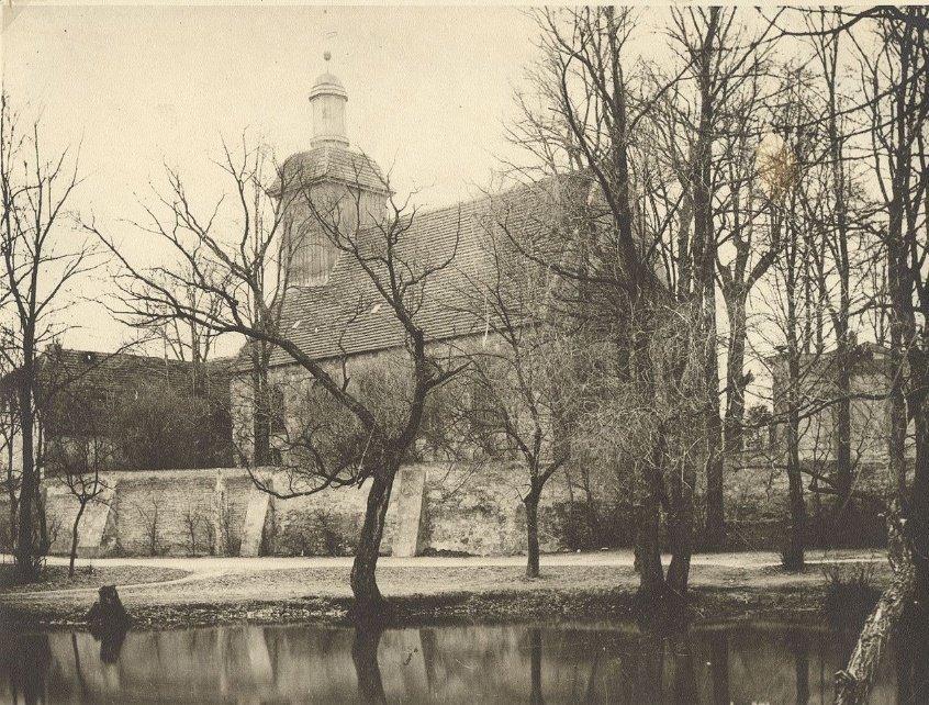 Dorfkirche Alt-Tempelhof, Aufnahme um 1890