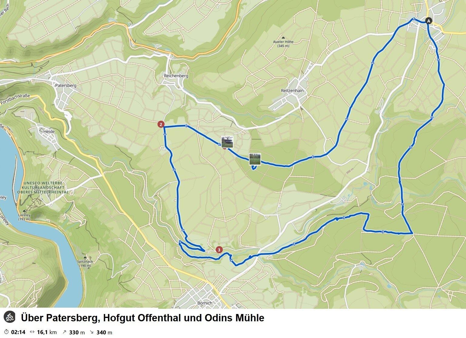 Patersberg-Tour