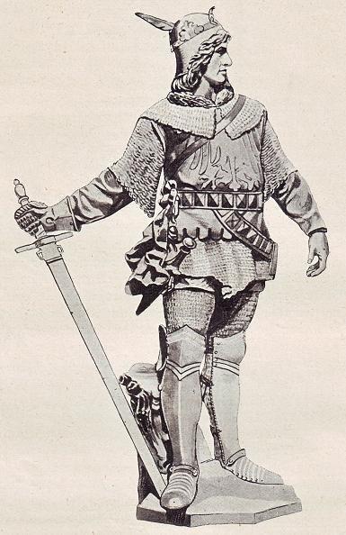 Markgraf Waldemar von Brandenburg  (Statue von Max Unger auf der  Mühlendammbrücke zu Berlin um 1894)