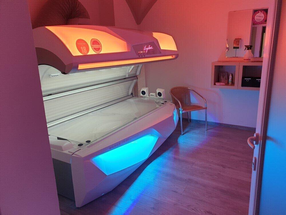 Lichttherapieliege Zentrum für Bewegung