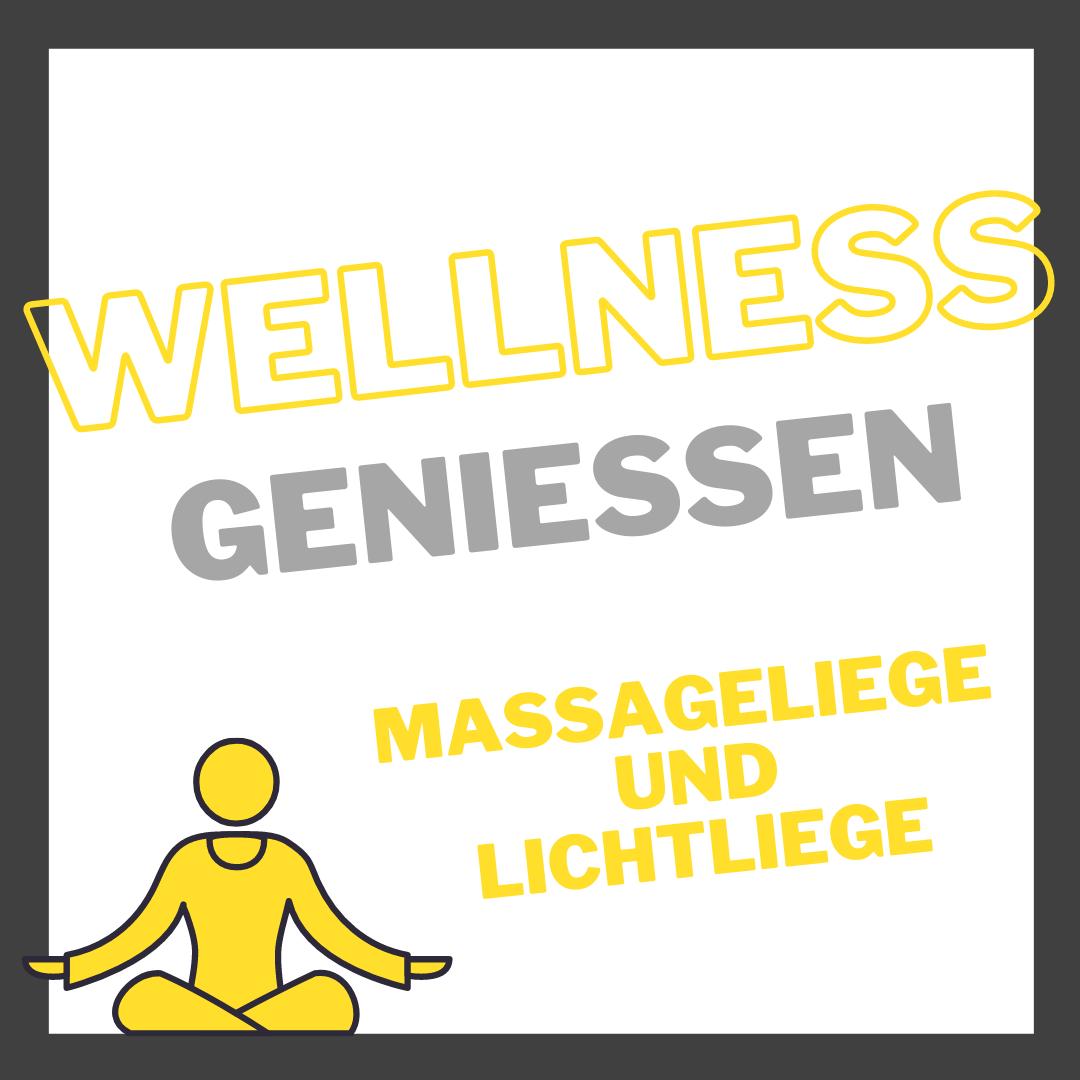 Wellness Vertrag Lichtliege Massageliege