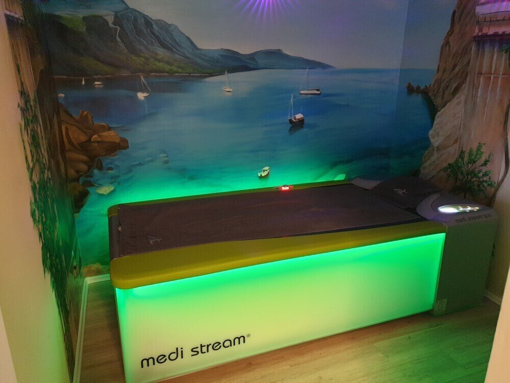 Medi Stream Spa Massageliege Zentrum für Bewegung