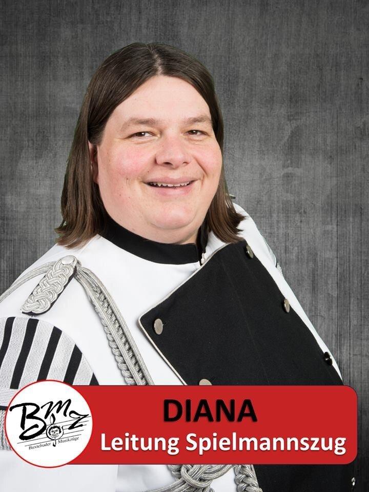 Leitung Spielmannszug - Diana Berg